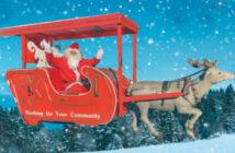 Hemel Rotary Santas sleigh