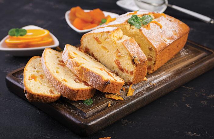Orand and Apricot loaf cake recipe