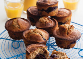 Lemon Berry Muesli Muffins