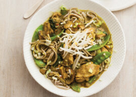 Indonesian Chicken with Buckwheat Noodles